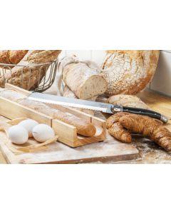 Laguiole Broodmes Zwart met stokbroodplank