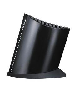 Global messenblok boot zwart