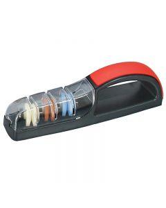 Global waterslijper Minosharp plus3 zwart/rood 550BR