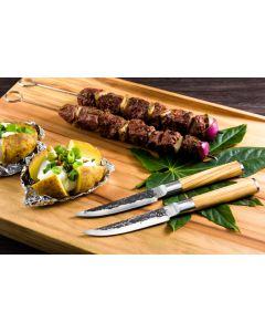 Forged Olive 4 steakmessen
